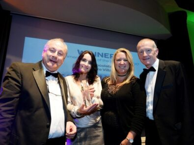 Chocolate Works Care Village celebrates first industry award