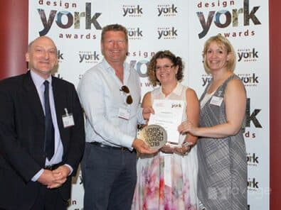 """The Chocolate Works Care Village Wins """"People's Choice Award"""" at the York Design Awards 2018"""