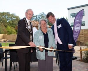 Official Opening of Mayfield View by the Mayor & Val Hancock