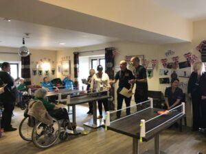 Ping Pong Tournament Winners