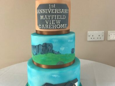 Mayfield Celebrates in Style & Local School Pupil Sees Cake Design Become a Reality
