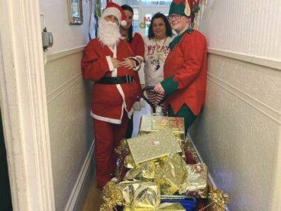 Christmas at Springfield Care Home