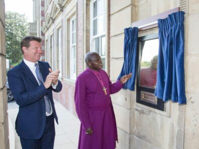 The Archbishop of York opens the Chocolate Works Care Village