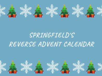 Springfield's Reverse Advent Calendar