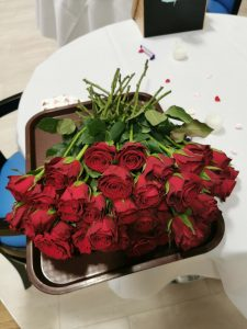 Valentines Day celebrations at Chocolate Works Care Village