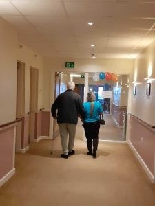Our residents are completing a 5K walking challenge.. on their communities