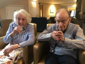 Centenary celebrations for inspirational Mayfield View resident