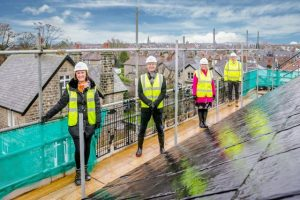 New luxury care home by Springfield Healthcare officially topped out