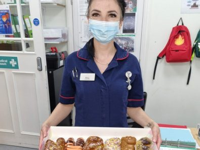 York Care Home Swaps the Chocolate For Donuts To Celebrate International Nurses Day