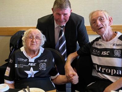 Service Users meet Hull FC heroes