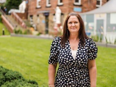 Tracey Hopkinson becomes I Care… Ambassador