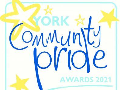Home Manager, Sarah Paskett presents special award at this week's York Press Community Pride Awards